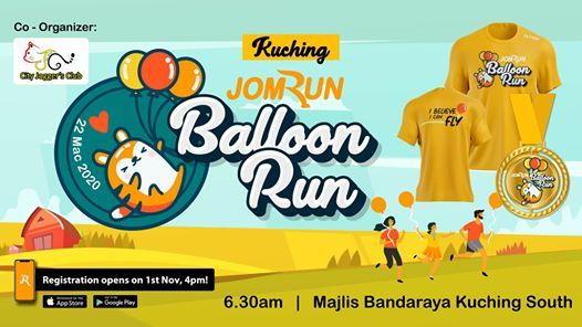 Kuching JomRun Balloon Run