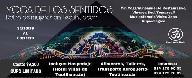 YOGA DE LOS SENTIDOS TEOTIHUACN