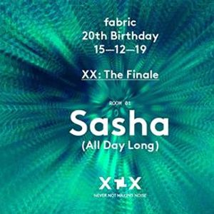 15.12 fabric  The Finale with Sasha (All Day Long)