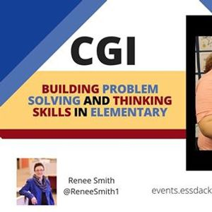 CGI Building Problem Solving and Thinking Skills in Elementary