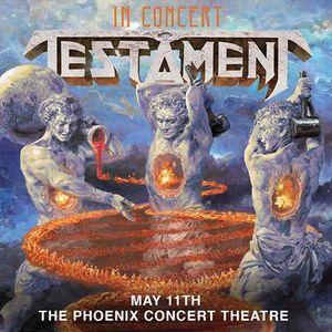 Testament - May 11 - Phoenix Concert Theatre