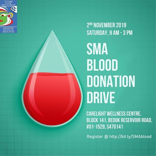 Sma Blood Donation Drive At Carelight Wellness Centre Blk