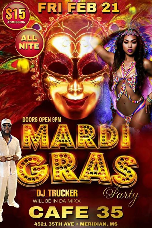 DJ Truckers Mardi Gras Party