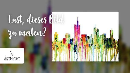 ArtNight Skyline Frankfurt am 10122019 in Frankfurt