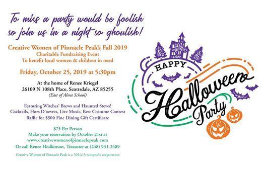 Halloween Party Fundraiser