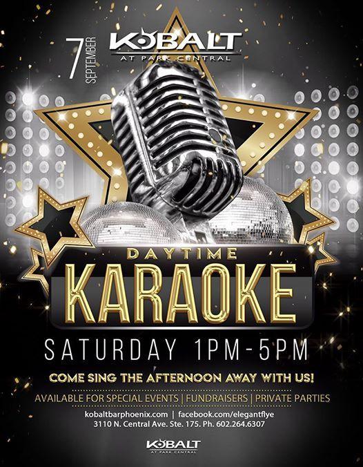Daytime Karaoke at Kobalt