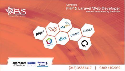 Certified PHP & Laravel Web Developer
