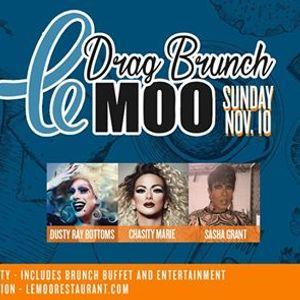 Drag Brunch at Le Moo 11.10.19