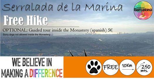 Free Social Hike Serralada de la Marina (Optional Monastery5)