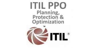 ITIL  Planning Protection And Optimization (PPO) 3 Days Virtual Live Training in Madrid