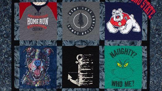 T-Shirt Quilt Class (2 Classes)