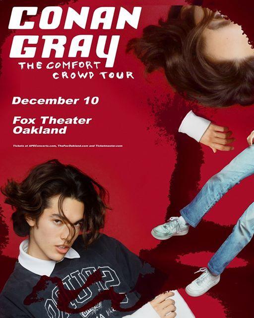 Conan Gray at Fox Theater