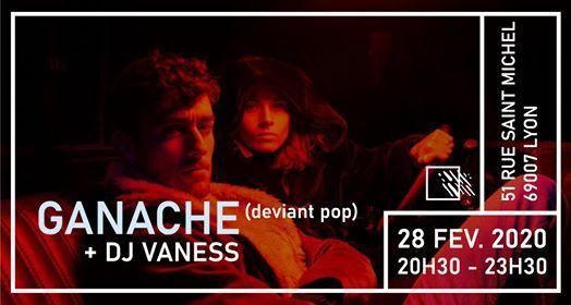 Ganache Release Party (Deviant Pop)  Dj Vaness