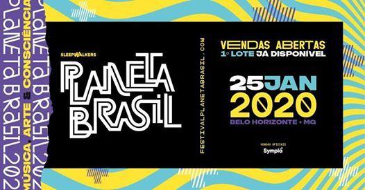 Festival Planeta Brasil 2020 - Evento Oficial