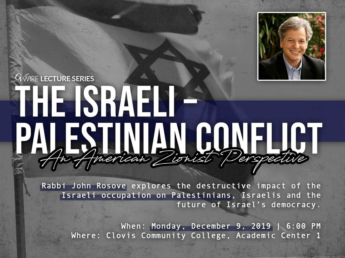 IsraeliPalestinian Conflict An American Zionist Perspective