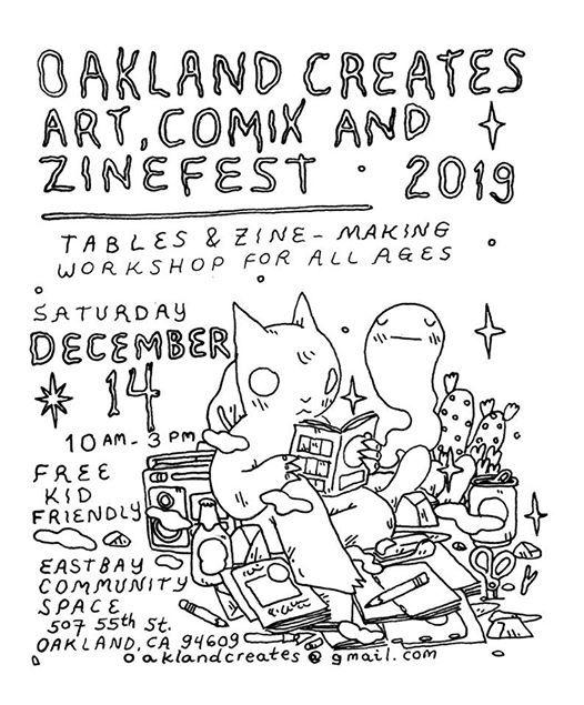 Oakland Creates Comix Art and Zinefest 2019