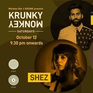 Krunky Monkey Saturdays 08 Eng. Fake Tattoos & Shez