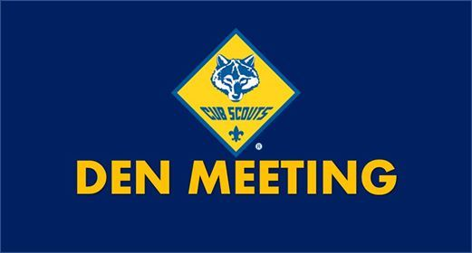 Den Meeting at Cub Scout Pack 34, Colorado Springs