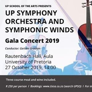 Invitation UPSO and Symphonic Winds Gala Concert