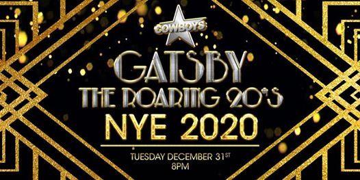 NYE 2020  Gatsby - The Roaring 20s