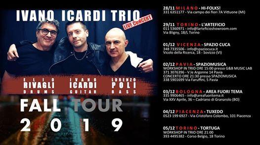 Ivano Icardi Trio - Fall Tour 2019 [IcardiRivagliPoli]
