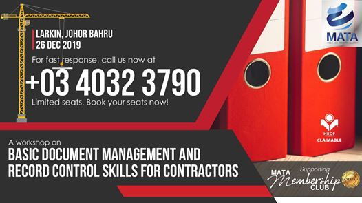 Basic Document Management & Record Control Skills For Contractor