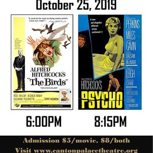 Hitchcock Double Feature The Birds and Psycho