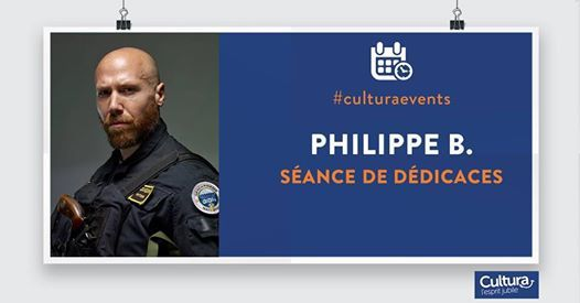 Dedicace Philippe B Gign Confessions Dun Ops At Cultura