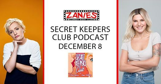 Secret Keepers Club Podcast at Zanies