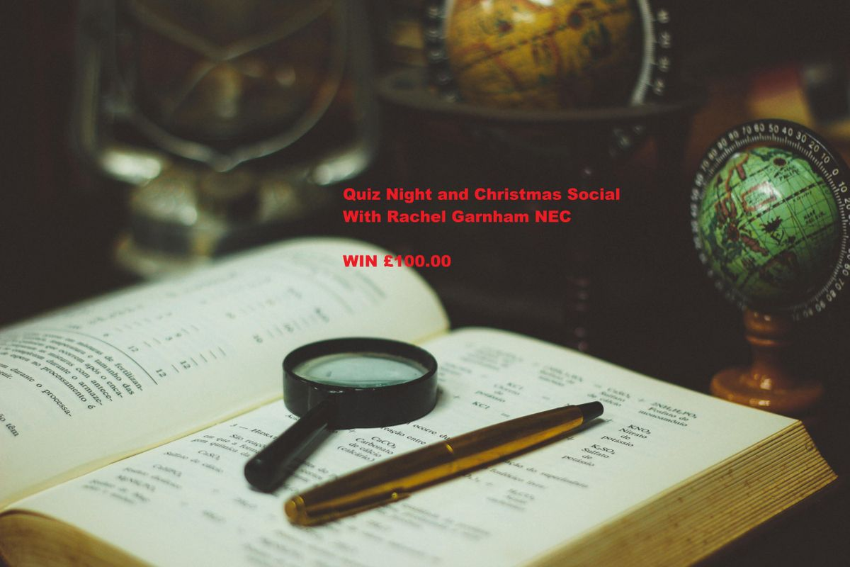 Quiz Night and Christmas Social