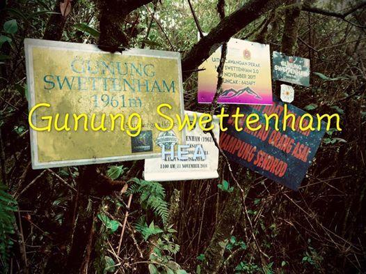 Gunung Swetthenham (29 February 2020)