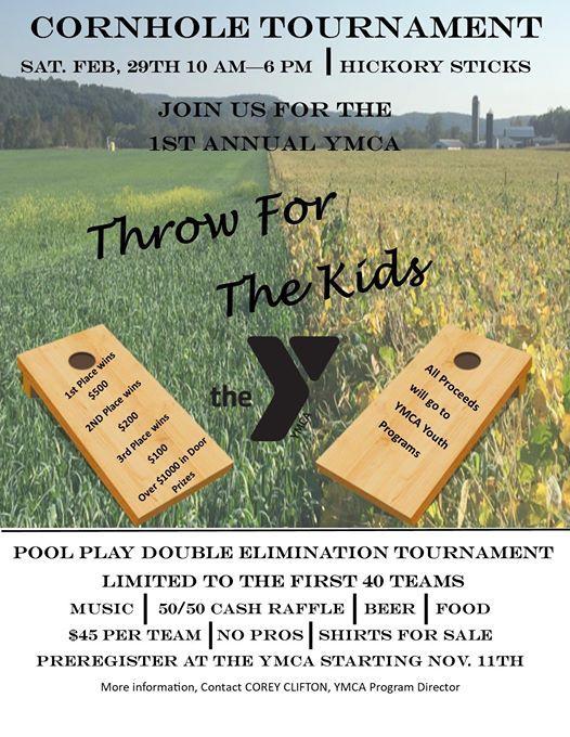 YMCAs Cornhole Tournament