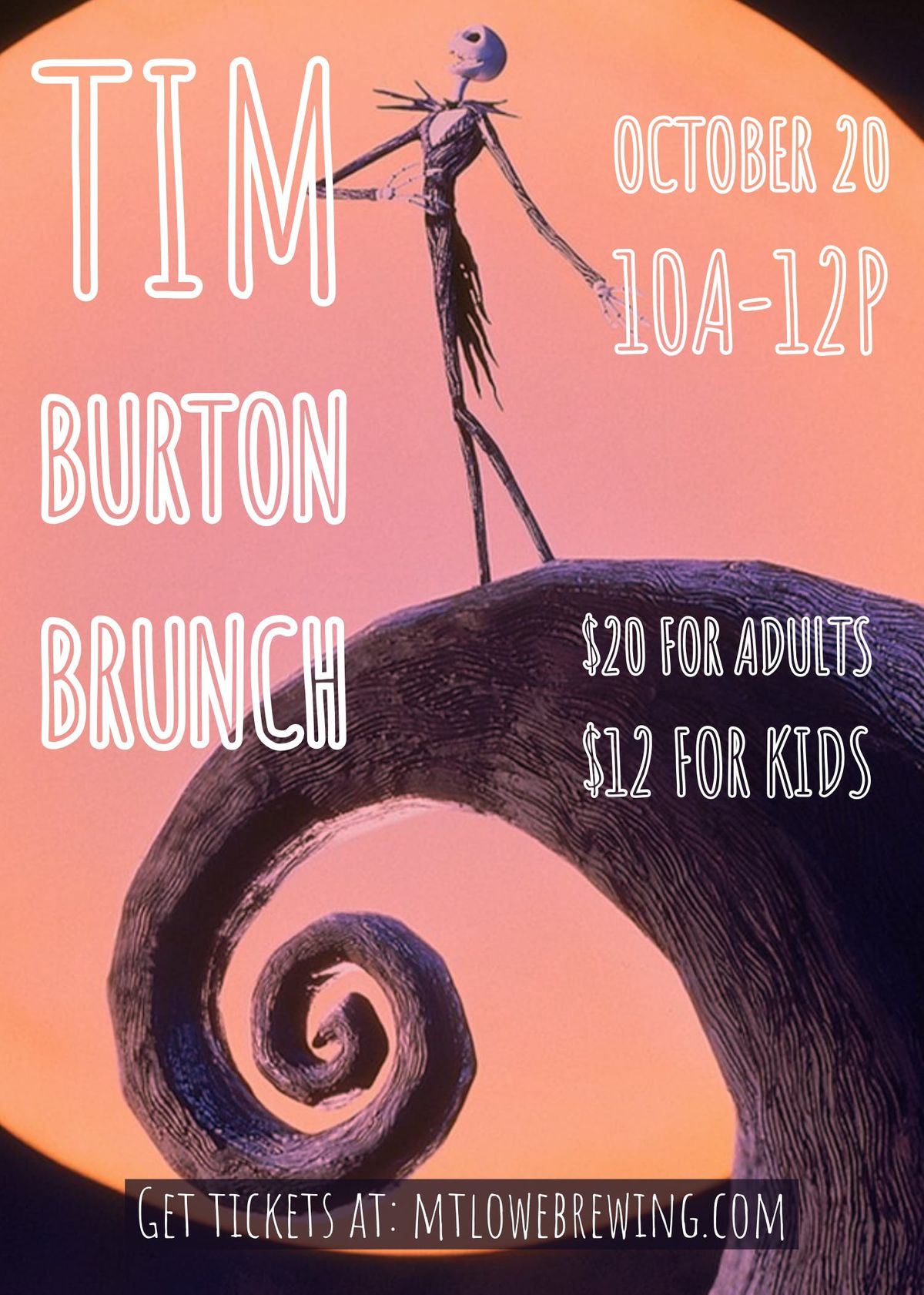 Tim Burton Themed Brunch At Mt Lowe Brewing Co Arcadia