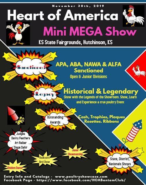 Kansas Heart of American Mini Mega Show