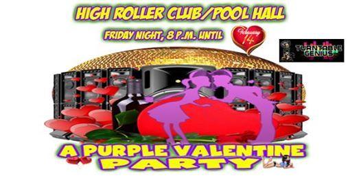 A Purple Valentine Party
