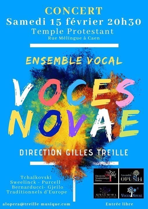 Concert Voces Novae et participation du duo Dzan