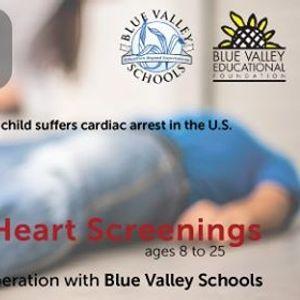 Heart Screenings for Blue Valley Schools