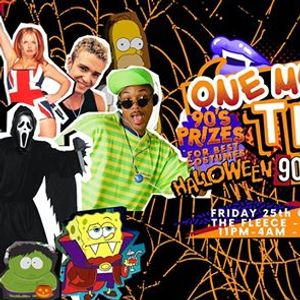 One More Time - Halloween 90s & 00s Party at The Fleece Bristol