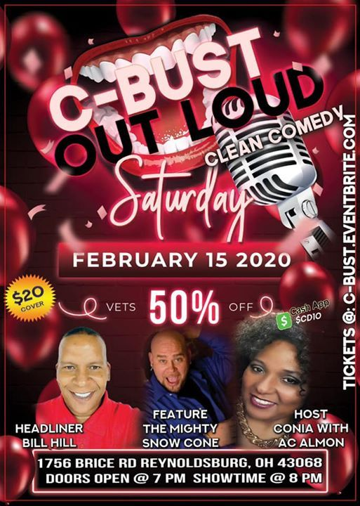 C-Bust Out Loud Valentines Day Comedy Show