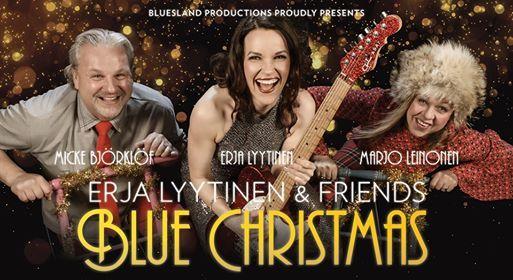 Erja Lyytinen & Friends Blue Christmas  Rauma
