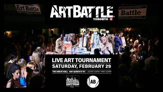 Art Battle Toronto - February 29 2020