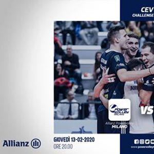 Challenge Cup  Allianz Powervolley Milano - Mladost R Kastela