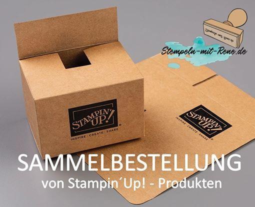 Sammelbestellung von StampinUp-Produkten