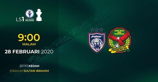 Johor Darul Tazim FC lwn Kedah FA