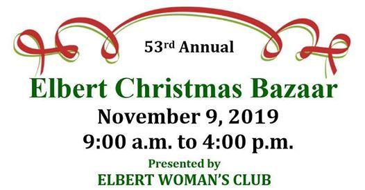 Elbert Christmas Bazaar 2020 2019 Elbert Christmas Bazaar, Elbert, Colorado, 9 November