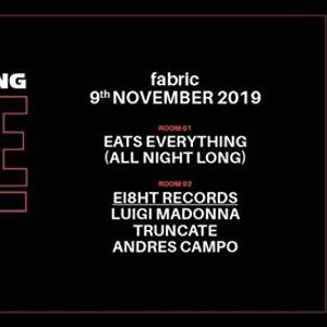9.11 fabric Eats Everything (All Night Long) & Luigi Madonna