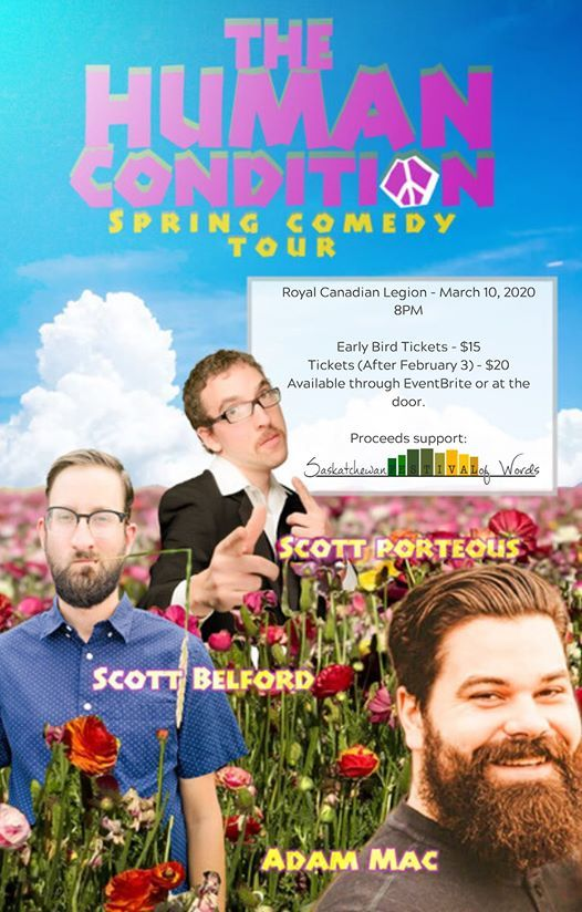 The Human Condition Spring Comedy Tour - Moose Jaw SK