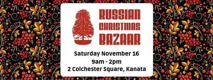 Russian Christmas Bazaar