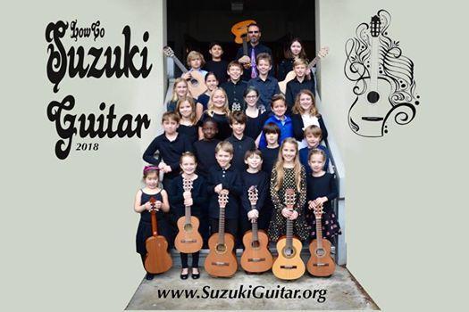 Childrens Suzuki Guitar Performance