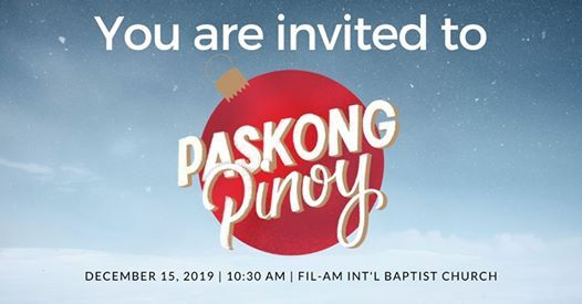 Paskong Pinoy 2019